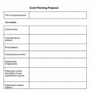sample event proposal template 25 free documents in pdf With how to plan an event template