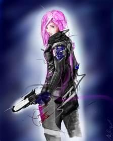 Destiny Female Hunter Fan Art
