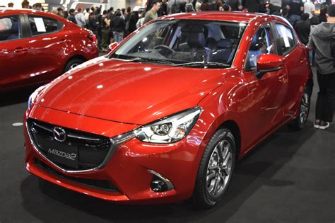 autos mazda 2017 mazda2 showcased at bims 2017