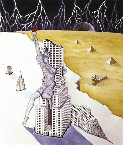 Watercolour Gouache 1974 Liberty Dream Sinking Currentmood