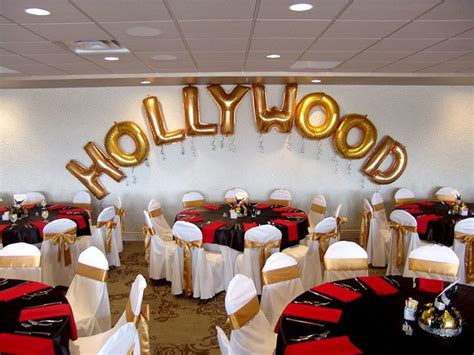 diy hollywood theme buy large individual letter balloons