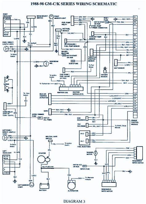 1998 K1500 Headlight Wiring by 1998 Chevrolet Suburban 1500 Wirng Diagram Auto Wiring