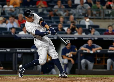 baseball swing how aaron judge built baseball s mightiest swing the new