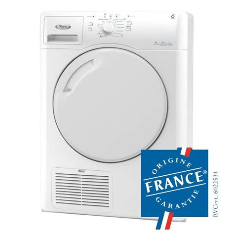 seche linge whirlpool azb 7570 whirlpool azb 7570 seche linge a condensation achat vente s 232 che linge cdiscount