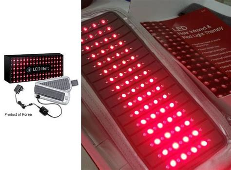 led light therapy near infrared light led light