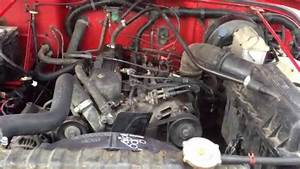 1991 Jeep Wrangler 91k Engine Compartment And Engine Start Video