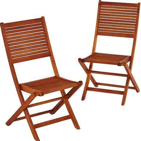 chaise pliante en bois lot de 2 chaises de jardin en bois eucalyptus trigano store