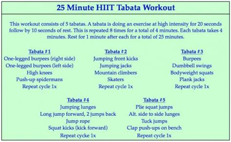 Images About Circuit Tabata Hiit Work Outs