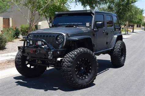bulletproof jeep 2015 jeep jku rubicon bulletproof sema build 95 000