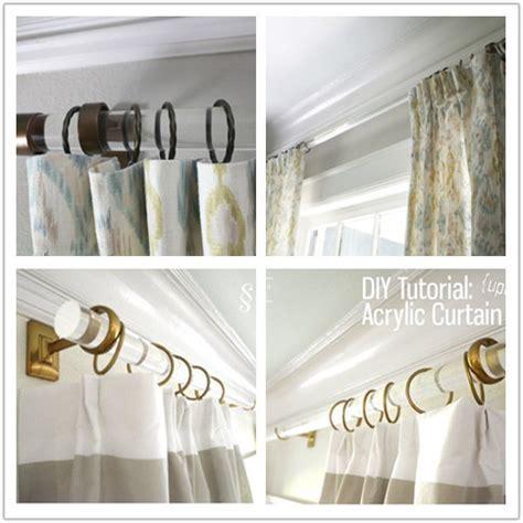 vente chaude clear acrylic tringle 224 rideau plexiglas