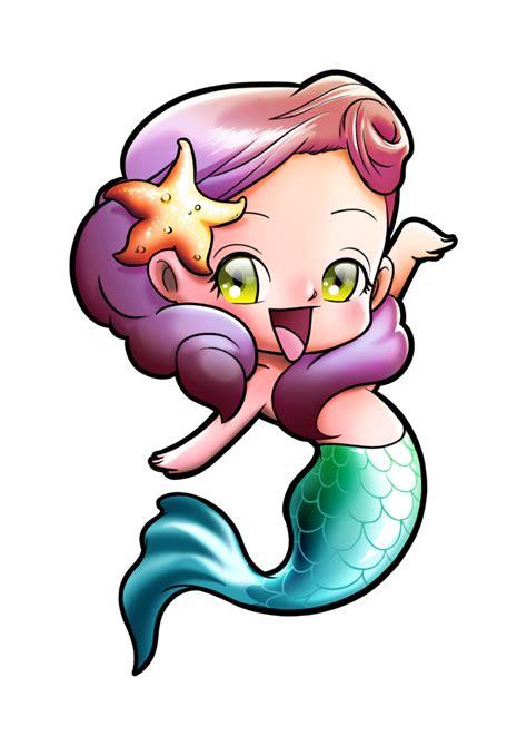 cute mermaid drawing clipart panda  clipart images