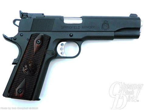 Springfield Range Officer 45 Acp Pistol Review