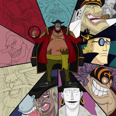 crew blackbeard kurohige  shiryu anime fairy blog
