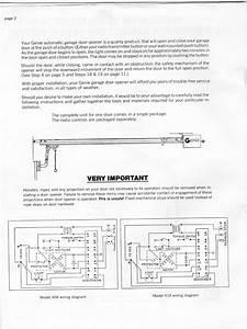 Wiring Diagram For Wayne Dalton Garage Door Opener
