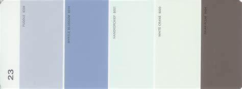 martha stewart paint 5 color palette card 23 thelandofcolor