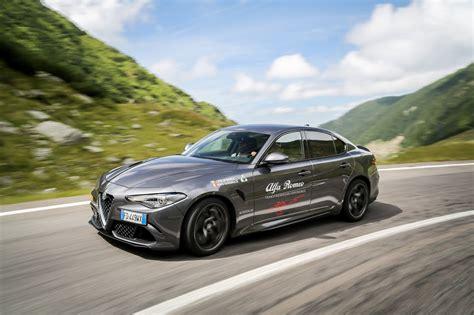 Alfa Romeo Stelvio And Giulia Take On Romania's Famous