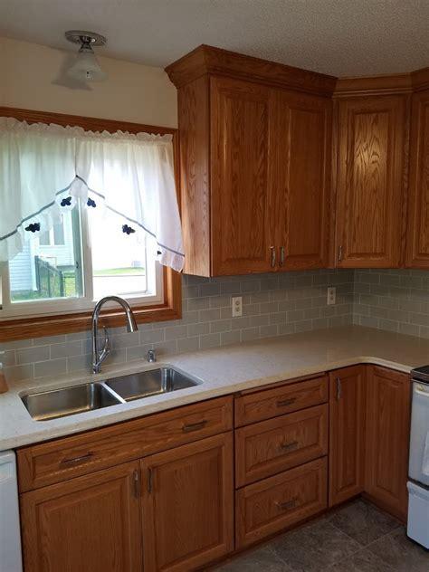 oak raised panel kitchen allrounder remodeling