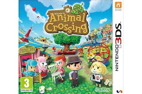 Animal Crossing New Leaf 3ds Console by Jeux 3ds 2ds Nintendo Animal Crossing New Leaf