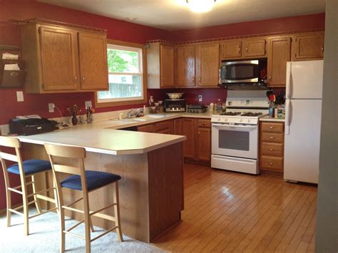 kitchen painting ideas with oak cabinets cherry wood kitchen cabinets with black granite white