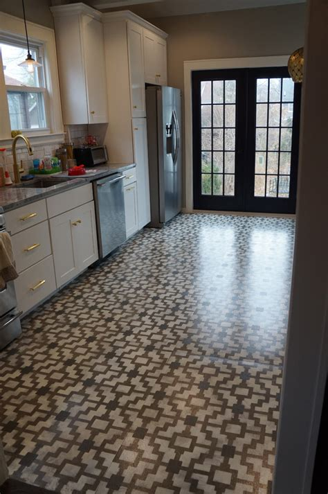 paint for floor tiles in kitchen 12 stunning painted floors that will inspire you to up 9043