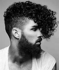 Black Curly Hair Shaved Sides Hairstyles Men