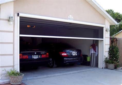 retractable garage door screen retractable garage door screen give appealing value to