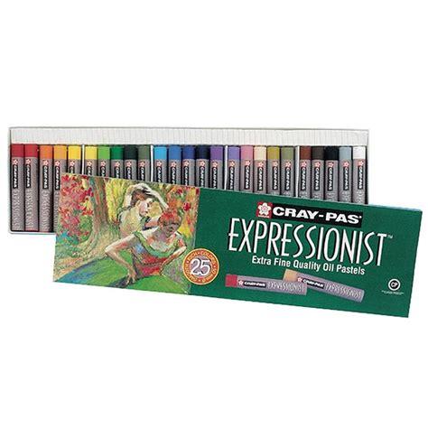 Kreativitas, menggambar imajinatif, oil pastel. Cray-Pas Expressionist Oil Pastels Set Of 25
