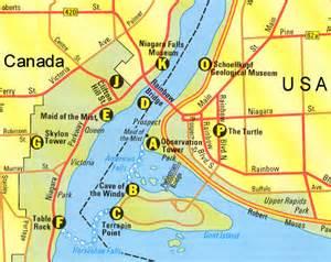 Niagara Falls Canada Map