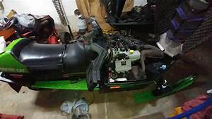 1997 Arctic Cat Ext 580 Efi Rough Start Progress