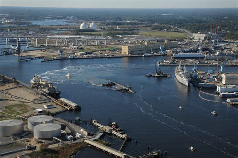 File:Portsmouth Naval Shipyard with USS West Virginia ...