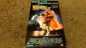 Back To The Future Part Ii Vhs Review