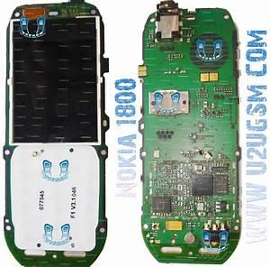 Gsmideazone  Nokia 1800 Pcb Diagram