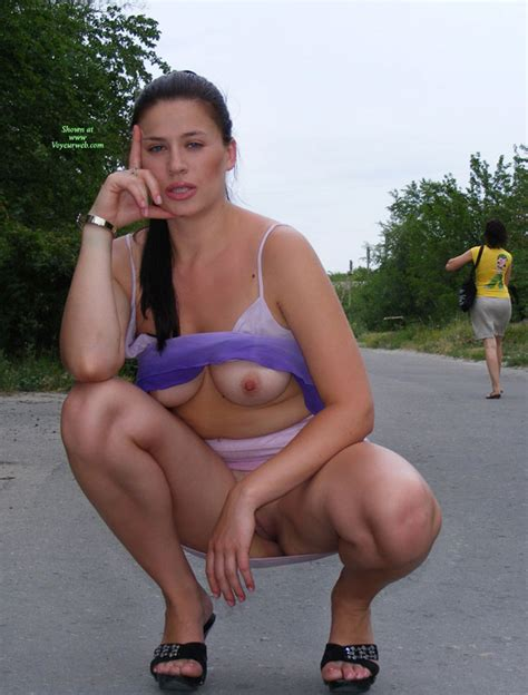 Tits And Pussy Showed In Public February 2010 Voyeur