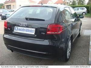 Audi A3 D Occasion : audi a3 ambition tdi 105cv 2010 occasion auto audi a3 ~ Gottalentnigeria.com Avis de Voitures