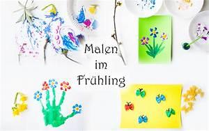 Malen Mit Kindern : 12 ideen zum malen im fr hling mit kindern mama kreativ ~ Orissabook.com Haus und Dekorationen