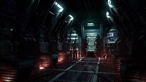 Wallpaper Alien Spacecraft Interior - Pics about space