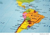 Signs And Info: Map Of South America Continent - Stock ...