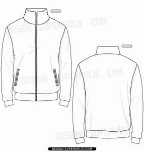 fashion design templates vector illustrations and clip With sports jacket template