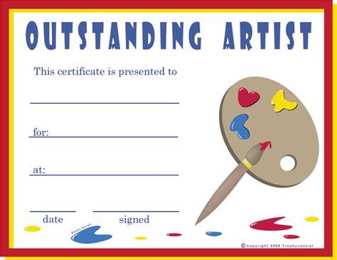 art certificates certificate  art