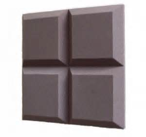 tegular foam sound absorbing tiles for walls and ceilings