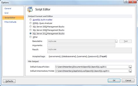 Apexsql Log Is Ready For Sql Server 2012