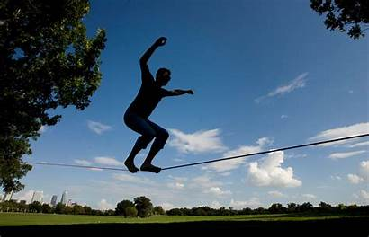 Slacklining Slackline Balance Jwj Line Slack Sport