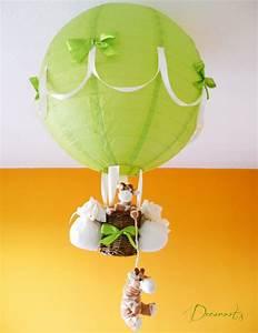 Lustre Montgolfière Bebe : lampe montgolfi re b b girafe d coration chambre enfant b b luminaire enfant b b decoroots ~ Teatrodelosmanantiales.com Idées de Décoration