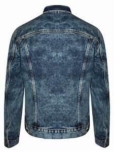 Levis Dark Blue Denim Trucker Jacket 24869 0009 Cilory Com