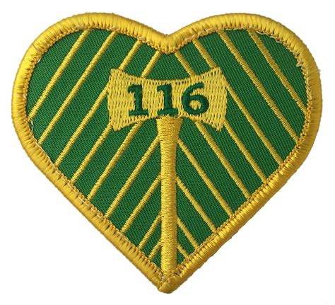 section  heart  axe ptfc patch patrol