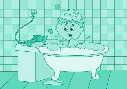 qua warnt vor gefahren  der badewanne badewannen