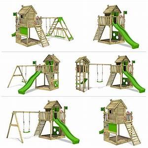 Aire De Jeux Pour Jardin : achat fatmoose cabane happyhome hot xxl maison d enfants ~ Premium-room.com Idées de Décoration