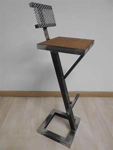 Tabouret Style Industriel : tabouret de cuisine style industriel mobilier design d coration d 39 int rieur ~ Teatrodelosmanantiales.com Idées de Décoration