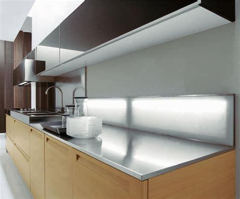 deleforterie cuisine crédence lumineuse pour plan de travail de cuisine