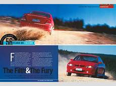2001 Ford Falcon AU XR8 v Holden Commodore VX SS